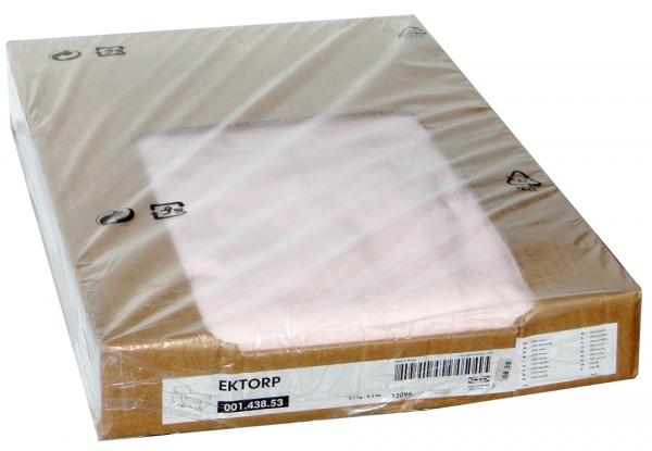ikea ektorp recamiere mit armlehne links in blekinge rosa 00148353 ebay. Black Bedroom Furniture Sets. Home Design Ideas