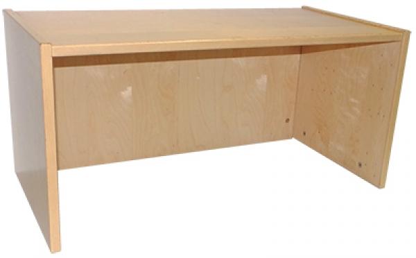 ikea effektiv aufsatz niedrig in birke altes system. Black Bedroom Furniture Sets. Home Design Ideas