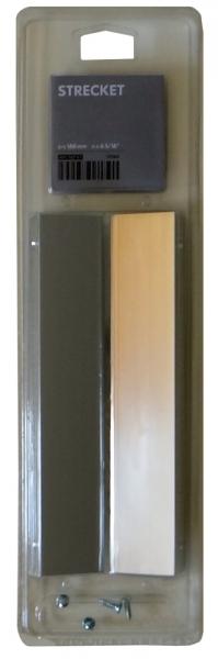 ikea t r griffe 2 st ck strecket 190mm in silber ebay. Black Bedroom Furniture Sets. Home Design Ideas