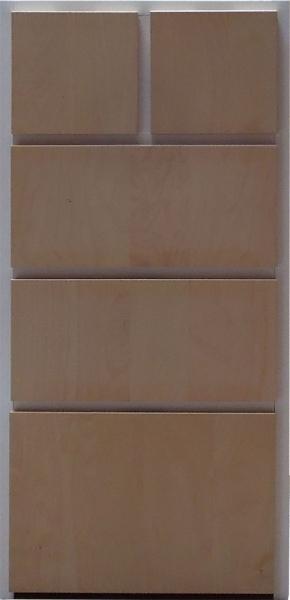 Schreibtisch Ikea Buche Galant ~ IKEA RAKKE Kommode in weiß  Birke 51x56x129cm 500 199 74  eBay