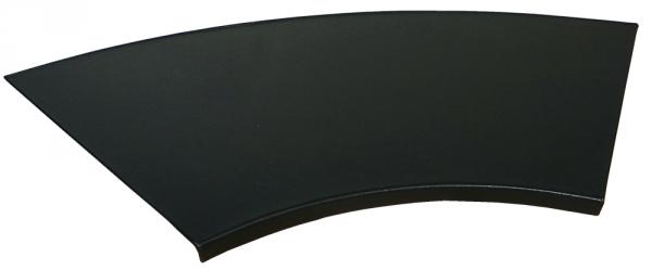 ikea kn s schreibtischunterlage aus metall mit kunstleder bezogen runde kante ebay. Black Bedroom Furniture Sets. Home Design Ideas