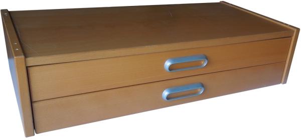 ikea effektiv schubladenaufsatz in buche aus dem alten. Black Bedroom Furniture Sets. Home Design Ideas
