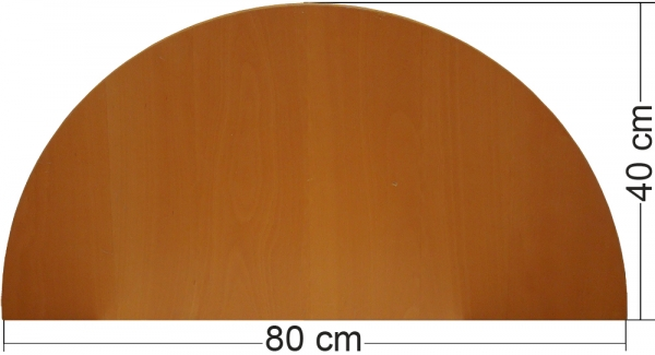 ikea effektiv tischplatte in buche dunkel 80x40cm. Black Bedroom Furniture Sets. Home Design Ideas