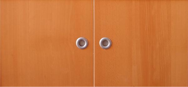 ikea effektiv t ren paar inkl griff in buche 2003. Black Bedroom Furniture Sets. Home Design Ideas