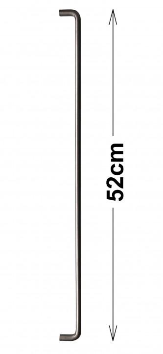IKEA ATTEST Möbelgriff Griff Edelstahl 52cm 000.385.45