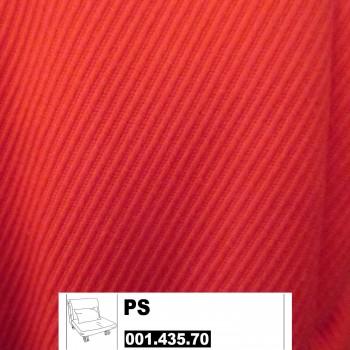 IKEA PS Bezug für Bettsessel 80x205cm in Roma rot 001.435.70