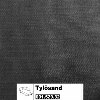 IKEA Tylösand Bezug für die Recamiere rechts in Everöd schwarz 001.529.32