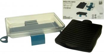IKEA PS 2012 Ofenform Glas Silikon inkl. Ständer 33x22cm
