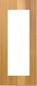 IKEA NORJE Vitrinenür Küchenfront 40x92cm Massive Eiche 002.202.19