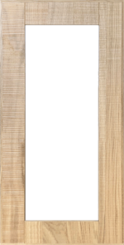 IKEA HYTTAN Vitrinentür Küchenfront 40x80cm Massive Eiche 002.211.05