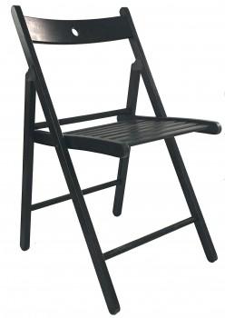 IKEA TERJE Klappstuhl Massive Buche schwarz gebeizt 002.224.40