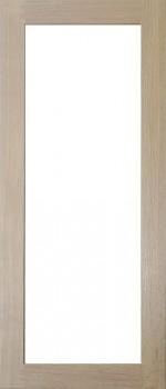 IKEA TIDAHOLM Vitrinentür 40x92cm Massive Eiche 100.603.19
