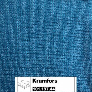 IKEA Kramfors Bezug für 2er Sofa Armlehne links in Myrby dunkel türkis101.197.44