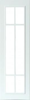 IKEA KROKTORP Vitrinentür Küchenfront 30x100cm weiß 101.218.93