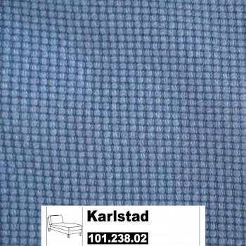 IKEA Karlstad Bezug für Recamiere (Freistehend) in Korndal Blau 101.238.02
