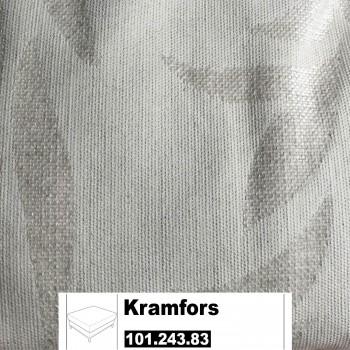 IKEA Kramfors Bezug für einen Hocker in Kvilla Naturfaben 101.243.83