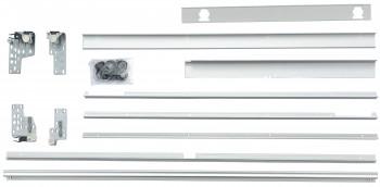 IKEA INTEGRAL Schienen montierbar mit d / Schiebetüren - 120x92 cm 101.550.82  FAKTUM
