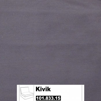 IKEA Kivik Bezug für 1er Sitzelement in Ingebo dunkelblau 101.833.15