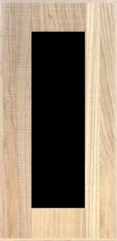 IKEA HYTTAN Vitrinentür Küchenfront 30x60cm Massive Eiche 102.219.06