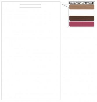 IKEA Märsta Tür Küchenfront 60x100cm weiß Griffmulde 102.972.32