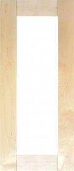 IKEA ÄDEL Tür Vitrinentür Küchenfront in Birke (alte Version) 40x92cm 144.831.07