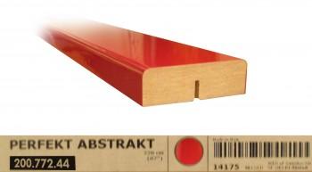 IKEA ABSTRAKT Dekorleiste 220x6 Hochglanz rot 200.772.44