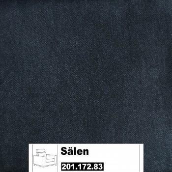 IKEA Sälen Bezug für einen Sessel in Flisby dunkelgrau 201.172.83