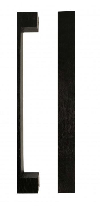 IKEA Takta Griffe 1 Paar Holz schwarzbraun 24cm Möbelgriff 201.181.26