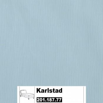 IKEA Karlstad Bezug für Recamiere (Anbau) in Sivik Hellblau 201.187.77 (20118777)