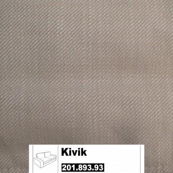 IKEA Kivik Bezug für 2er Sofa in Svanby beige 201.893.93