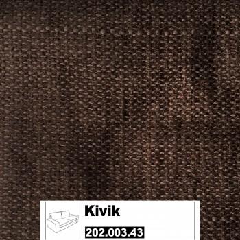 IKEA Kivik Bezug für 2er Sofa in Tullinge dunkelbraun 202.003.43