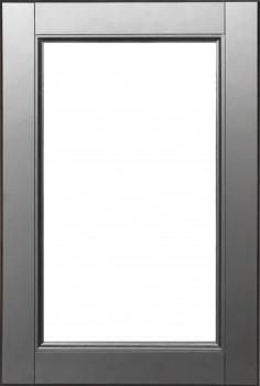 IKEA LAXARBY Vitrinentür Küchenfront 40x60cm Massive Birke in schwarzbraun 202.057.79