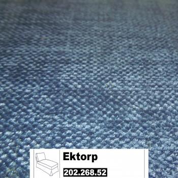 IKEA Ektorp Bezug für Freistehende Recamiere in Vellinge dunkelblau 202.268.52