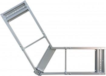 IKEA Galant Rahmen für Schwalbe Ecktischplatte