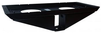 IKEA Effektiv - T Traversenhalter + Montageplatte schwarz (alte Serie)