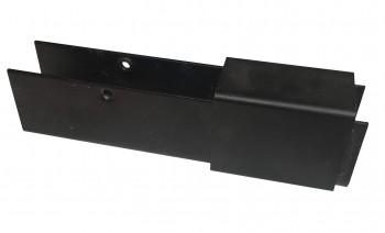 IKEA Effektiv - T Adapter für Ansatzplatte schwarz