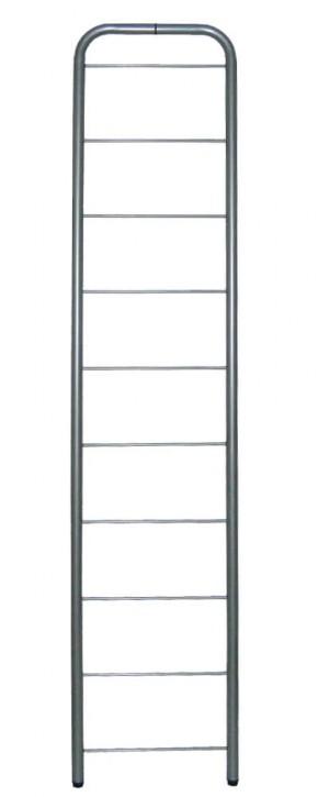 IKEA Niklas Seitenteil 202cm x 40cm in silber