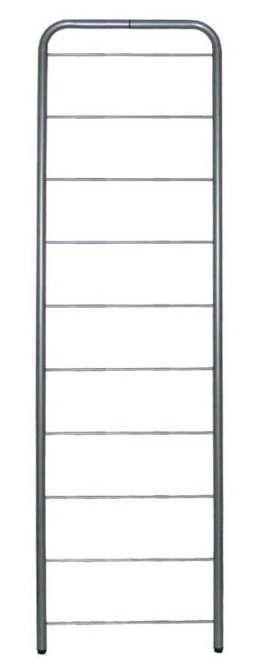 IKEA Niklas Seitenteil 202cm x 60cm in silber