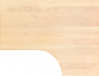 IKEA Galant Ecktischplatte / L - Form 160x80x60x120cm  - Buche ab 2006