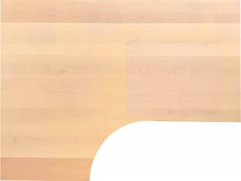 IKEA Galant Ecktischplatte / L - Form 160x60x80x120cm  - Buche ab 2006