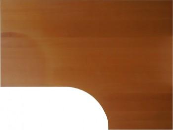 IKEA Effektiv Ecktischplatte / L - Form 160x80x60x120cm  - Buche vor 2006