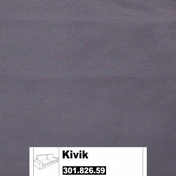 IKEA Kivik Bezug für 3er Sofa in Ingebo dunkelblau 301.826.59