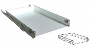 IKEA FÖRVARA Schublade 40x60cm niedrig weiß für METOD Küchen 302.152.97