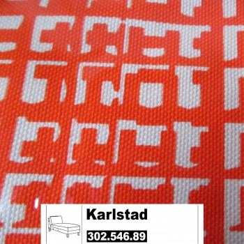 IKEA Karlstad Bezug für Anbaurecamiere in Husie orange 302.546.89