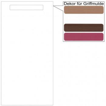 IKEA Märsta Tür Küchenfront 40x80cm weiß Griffmulde 302.972.31