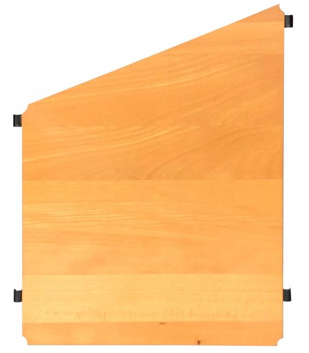 IKEA Niklas Regalboden von 40 auf 55cm in Buche inkl. Halter