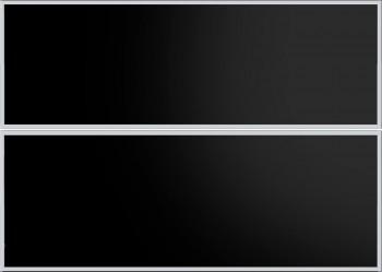 IKEA Rubrik Schubladenfronten Küchenfront 80x57cm schwarz  glas 401.062.74