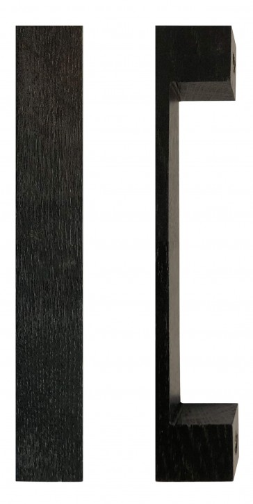 IKEA Takta Griffe 1 Paar Holz schwarzbraun 15cm Möbelgriff 401.181.25