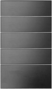 IKEA RAMSJÖ Schubladenfront 40x70cm Massive Buche schwarzbraun 401.533.31