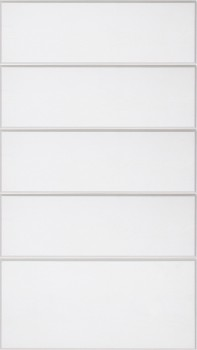 IKEA RAMSJÖ Schubladenfront 40x70cm Massive Buche in weiß 401.585.07